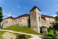 Ljubljana-Schloss, Slowenien, Europa Stockfotos