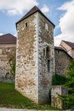Ljubljana slott Royaltyfria Foton