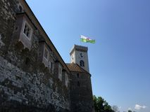 Ljubljana slott Arkivfoto