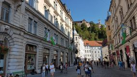 Ljubljana Slovénie images libres de droits