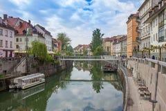 Ljubljana, Slovénie photo stock