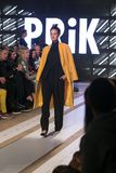 Ljubljana, Slovénie/Slovénie - 6 NOVEMBRE 2018 : Semaine LJFW de mode photographie stock libre de droits