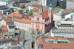 Ljubljana, Slovenië Stock Afbeeldingen
