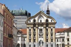 Ljubljana in Slovenië Royalty-vrije Stock Afbeeldingen