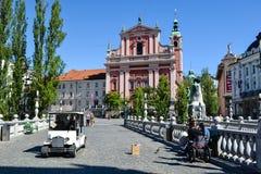 Ljubljana, Slovenia Foto de Stock