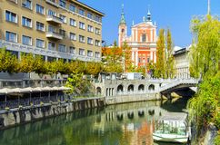 Ljubljana - Slovenia Stock Photography