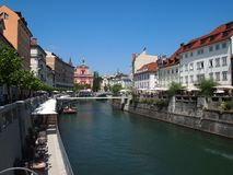 Ljubljana, Slovenia Royalty Free Stock Photography