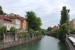 Ljubljana, Slovenia stock images