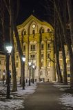 Igreja de Ursuline em Ljubljana Fotos de Stock