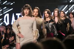 Ljubljana, Slovenia / Slovenia - NOVEMBER 05 2018: Fashion Week LJFW royalty free stock photo