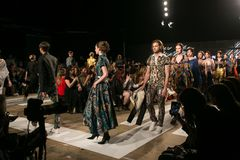 Ljubljana, Slovenia / Slovenia - NOVEMBER 05 2018: Fashion Week LJFW stock images