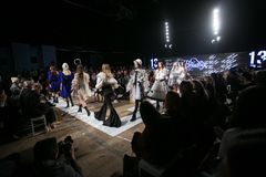Ljubljana, Slovenia / Slovenia - NOVEMBER 05 2018: Fashion Week LJFW royalty free stock photos