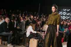 Ljubljana, Slovenia / Slovenia - NOVEMBER 05 2018: Fashion Week LJFW stock image