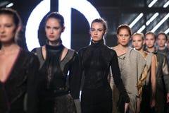 Ljubljana, Slovenia / Slovenia - NOVEMBER 05 2018: Fashion Week LJFW royalty free stock images