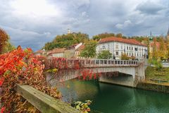 Ljubljana, Slovenia waterfront