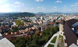 Ljubljana Slovenien royaltyfria foton