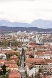Ljubljana Slovenien Fotografering för Bildbyråer