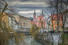 Ljubljana Slovenien arkivfoto