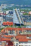 Ljubljana Slovenien - sikt av den moderna arkitekturen Royaltyfria Foton