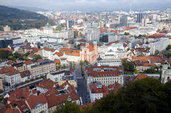 Ljubljana, Slowenien stockfotos