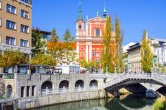 Ljubljana - Slowenien lizenzfreie stockfotos