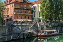 Ljubljana Slowenien Lizenzfreies Stockfoto