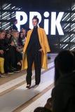 Ljubljana, Slowenien/Slowenien - 6. NOVEMBER 2018: Mode-Woche LJFW lizenzfreie stockfotografie