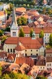 Ljubljana, St James Church Royalty Free Stock Photos