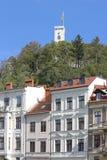 Ljubljana Town Stock Photography