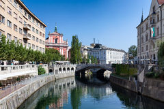 Ljubljana View Royalty Free Stock Photos