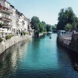 Ljubljanica Imagem de Stock