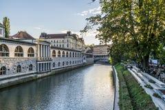 Ljubljanica Image libre de droits