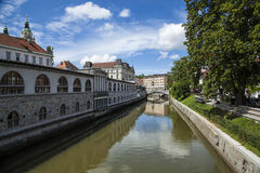 Ljubljanica Στοκ εικόνα με δικαίωμα ελεύθερης χρήσης