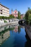 Ljubljanica River Royalty Free Stock Image