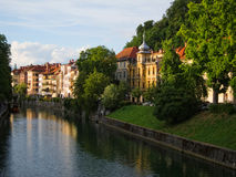 Ljubljanica River Stock Photos