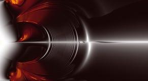 ljud för explosion fractal35b stock illustrationer