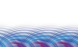 ljud- waves för affärsdiagram royaltyfri illustrationer