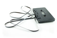 Ljudkassett arkivfoto