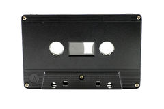 Ljudkassett royaltyfria foton