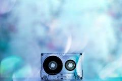Ljudkassetter för tappning för registreringsapparatpartidans arkivfoto