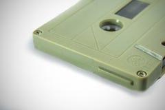 Ljudkassetter - retro stil Arkivbilder