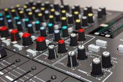 Ljudkontrollbräde Arkivfoton