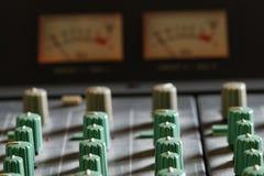 Ljudsignal blandare fotografering för bildbyråer