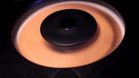 Ljudsignal diskettspelare stock video