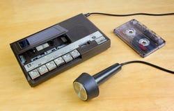 ljudsignal gammal registreringsapparat Arkivfoton