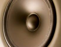 ljudsignal högtalare Arkivbilder