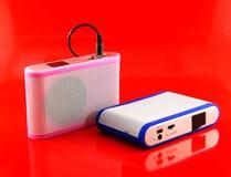 Ljudsignal högtalare. Fotografering för Bildbyråer