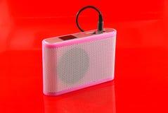 Ljudsignal högtalare. Arkivfoto