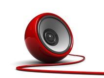 ljudsignal högtalare Fotografering för Bildbyråer