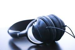 ljudsignal hörlurar Arkivbilder